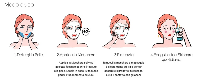 Maschera For Ski Purobio cosmetics