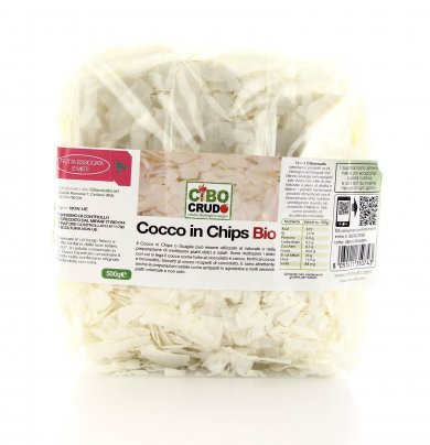 Cocco in Chips Bio 500 g.