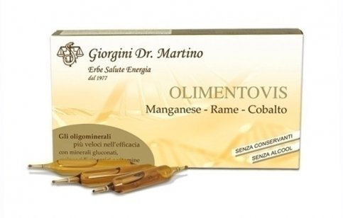Olimentovis Manganese Rame Cobalto - 30 Ampolle